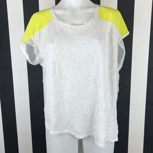 5 for $25 Forever 21 + Mesh Side Neon T Shirt
